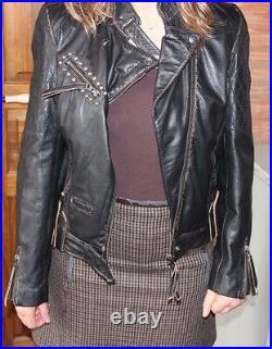 PASS HELLFEST ROCK HARD SUPER BLOUSON CUIR REDSKINS HARLEY DAVIDSON Taille 36
