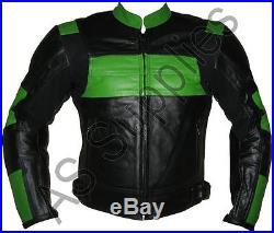 POISON Veste de Moto en Cuir Blouson Motard Toutes tailles