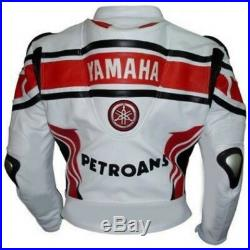 Petronas Biker Cuir Veste Moto Cuir Veste Vêtement En Cuir Motorbike