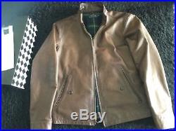 Polo Ralph Lauren / veste blouson / cuir d'agneau / Barracuda lambskin jacket