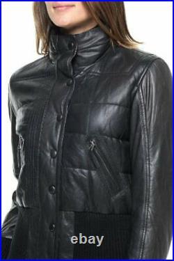 Promotion! Blouson Doudoune Cuir Oakwood Silar Neuf Femme Taille L