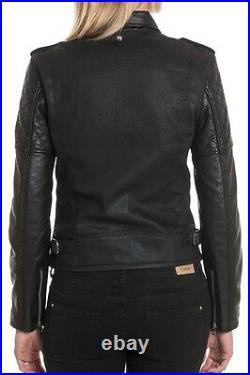 Promotion! Schott Nyc Blouson Perfecto Lcwjoanx Neuf Noir Femme Taille S