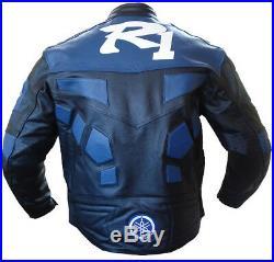 R1 Biker Cuir Veste Moto Cuir Veste Vêtement En Cuir Motorbike Eu-54,60