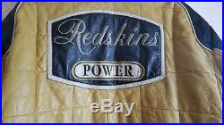 REDSKINS INDY 500 Blouson Veste Moto Vintage Cuir Homme LFS 99 P Taille XL / XXL