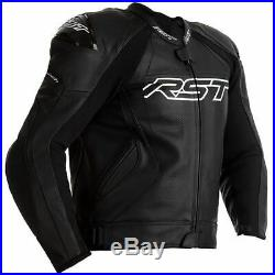 RST Tractech Evo 4 CE Hommess Noir Veste De Moto En Cuir