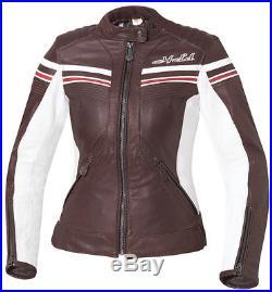 Reduit Held Jolin Gr. 40 Femmes Blouson Moto Veste en Cuir Taillé / Cintré