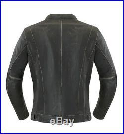 Reduit Ixs Sondrio Blouson Moto Antique Vieux Rétro Vintage Veste en Cuir