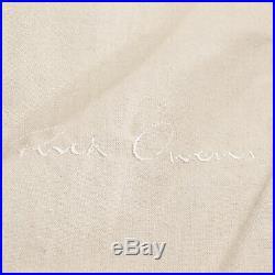 Rick Owens Veste de Peau Mouton Gr. 38 Gris Femme en Cuir Blouson Motard