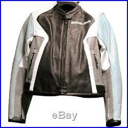 SEGURA Lady Havanna Blouson Veste Moto Cuir Femme TAILLE 3 soit 42 NEUF
