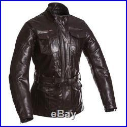 SEGURA blouson veste moto cuir femme LADY HAVANA vintage toutes saisons marron