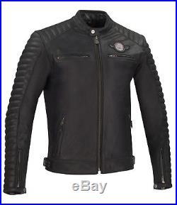 SEGURA veste en cuir UNITED Français gr. Xl Noir France Blouson moto neuf