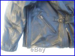 SOUBIRAC Veste cuir femme NORA S 38 ETAT NEUF blouson moto prix d'origine 490
