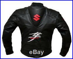 SUZUKI Moto Veste en cuir Sports Moto Armures Veste