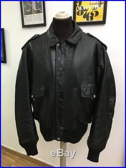 Schott veste en cuir homme veste blouson jacke chaqueta taille. 52