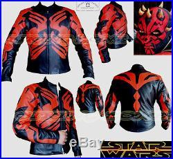 Star Wars Haute Qualité Hommes Ce Armure Moto / Veste Cuir Moto