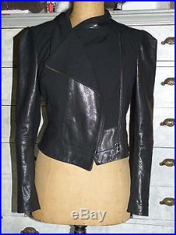Superbe Veste0 Blouson Perfecto En Cuir Noir Vivienne Westwood T I 42 F 38 Neuf