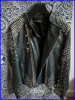 Superbe blouson perfecto veste cuir Zadig & Voltaire Deluxe 36 TBE val. 1500