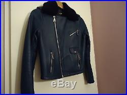 d64e9ae173800 Superbe perfecto blouson veste cuir Maje modèle bluff 38
