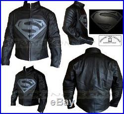 Superman Style Ce Armure Hommes Moto / Veste Cuir Moto