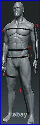 Superman Style Hommes Noir/Gris Protection Moto / Veste Cuir Moto