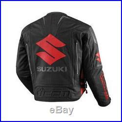 Suzuki Moto Costume En Cuir Moto Veste En Cuir Motards courses Pantalon