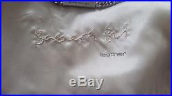 Très jolie veste blouson en cuir Barbara Bui T. 38 taupe