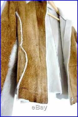 Veste Blouson BARBARA BUI Cuir / Peau Poulain LUXE Taille 38 M