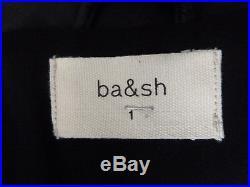 Veste Blouson Bash Perfecto En Cuir Noir Taille 1 Neuf Jamais Porte