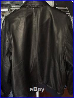 Veste Blouson Cuir Air Jordan Fly Guy Leather Jacket Neuve New