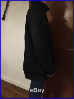 Veste Blouson Ermenegildo Zegna en cuir Souple Taille XL 54. Brioni