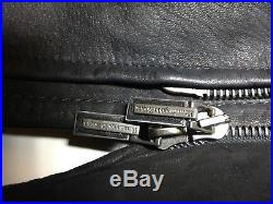 Veste Blouson Ermenegildo Zegna en cuir Souple Taille XL 54 Vintage