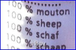 Veste Blouson Homme LACOSTE Cuir Mouton Taille 54/6