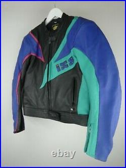 Veste / Blouson Moto Femme Marque IXS Taille 48 Très Bon État Vintage