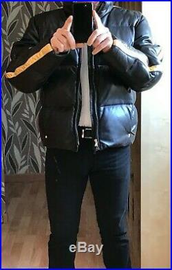 Veste Blouson cuir matelassé Ralph Lauren Sport RLX unique (trés peu exemplaire)