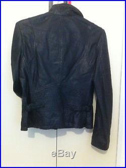 Veste/Blouson cuir noir, L, 38/40, SCHOTT, neuve