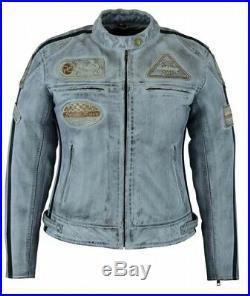 Veste Cuir Femme, Blouson Pour Moto, Vintage, Biker Veste, Trike, Retro Jacket