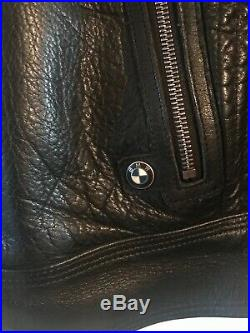 Veste Cuir Moto Bmw Blackleather Taille 56 XL