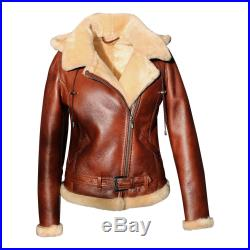 Veste cuir hiver femme