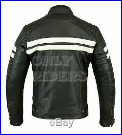 6c57abd256df Veste En Cuir Homme Moto, Noir, Biker, Blouson Moto, Chopper, TAille ...