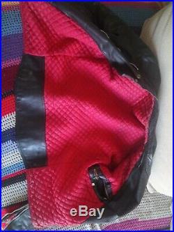 Veste En Cuir Homme, Vintage, Racer, Leather Jacket, Blouson, Rocker