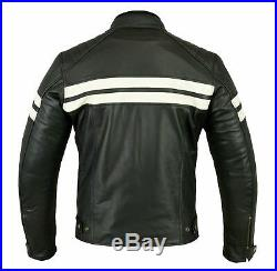 Veste En Cuir Moto, Cafe Racer, Biker Veste, Trike, Blouson Moto, Tout S a 4XL