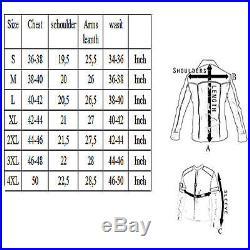 Veste En Cuir Moto Homme, Vintage, Cafe Racer, Leather Jacket, Blouson Taille XL