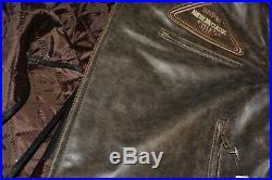 Veste En Cuir Moto Homme, Vintage, Cafe Racer, Leather Jacket, Trike, Rocker