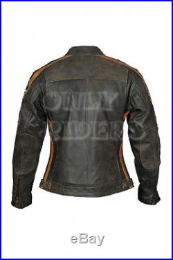 Veste Pour Femme, Blouson Pour Moto, Blouson En Cuir, Chopper, Vintage, Biker