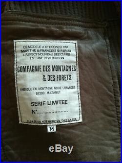 Veste/blouson Cuir Marron Compagnie Des Montagnes/forets- M&f Girbaud T. L