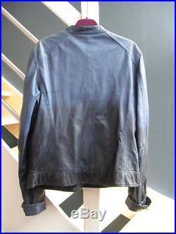 Veste/blouson En Cuir Ikks Modèle Rare Taille 42