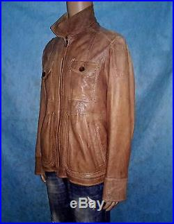 Veste blouson OAKWOOD en cuir mouton taille XXL comme neuf