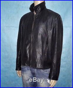 Veste blouson VENTCOUVERT modele matt en cuir vachette taille xl super etat