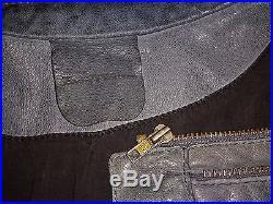 Veste blouson ZADIG & VOLTAIRE lucas en cuir gris de chevre souple taille L/LX