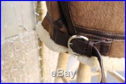 Veste blouson cuir de mouton shearling original flight army SCHOTT B3 RAF